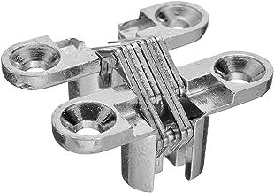AQHXLS 1 paar intrekbare scharnieren deur kast houten box gereedschap hardware scharnier gereedschap (kleur: zilver)