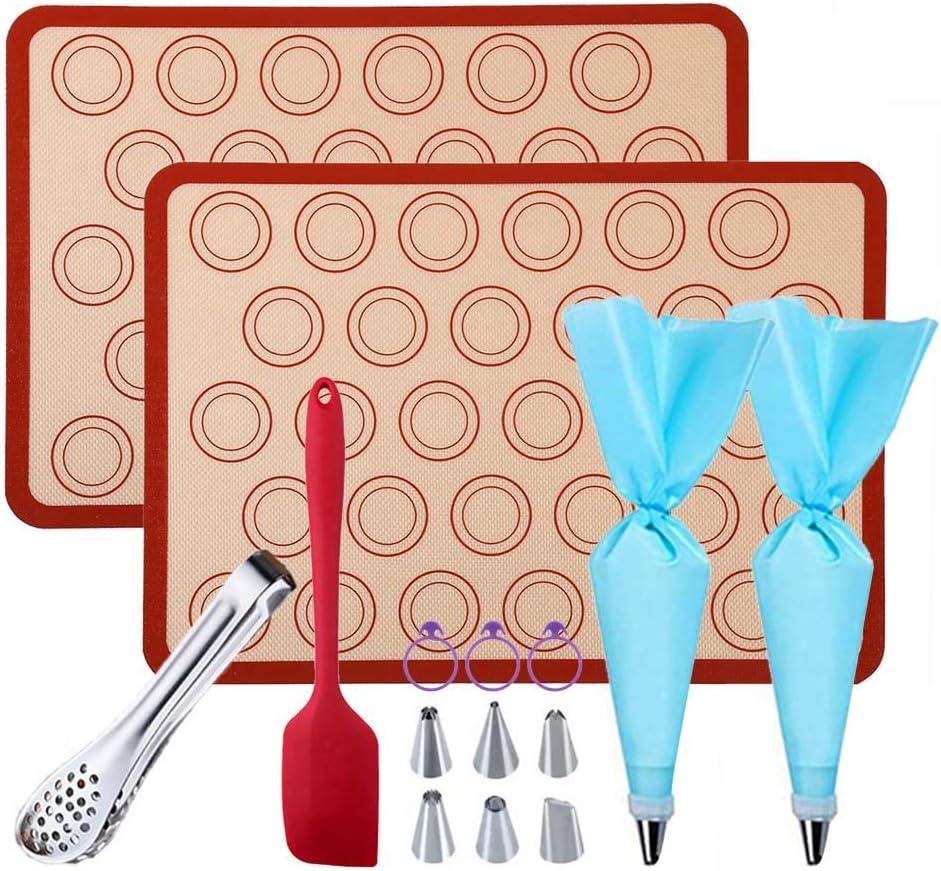GARCENT Macaron Kit 2 Non-stick 11.6