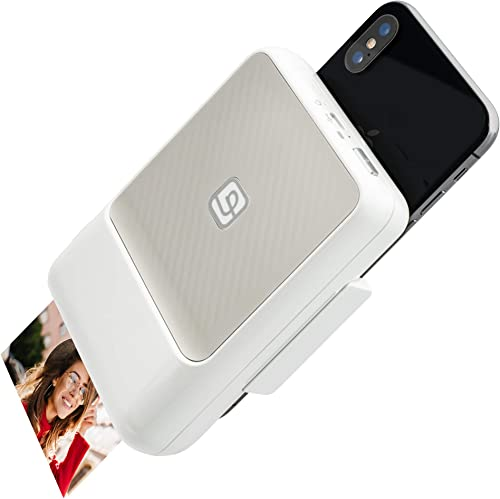 2021 Lifeprint 2x3 Instant Printer for iPhone. Turn Your iPhone online sale Into an Instant-Print Camera for Photos online sale and Video! - White outlet online sale