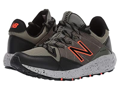 New Balance Kids Fresh Foam Crag v1 (Little Kid) (Mineral Green/Black/Hi-Lite) Boys Shoes