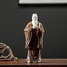 Sculptuur Decoratie - Creatieve Mode Chinese Stijl Confucius Icoon Standbeeld Eenvoudige Keramische Moderne Kunst Sculptuu...