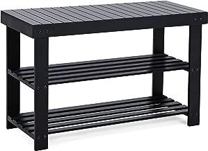 Best hallway shoe storage bench Reviews