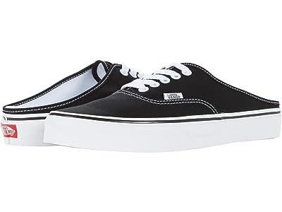 Vans Authentic Mule (Black/True White) Shoes