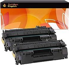 Cartridges Kingdom Pack de 2 Compatibles Cartuchos de Tóner para HP Laserjet P2030, P2035, P2050d, P2055, P2055d, P2055dn, P2055x, Canon i-SENSYS LBP6300dn, LBP6650dn [CE505A | 719, 10000 páginas]