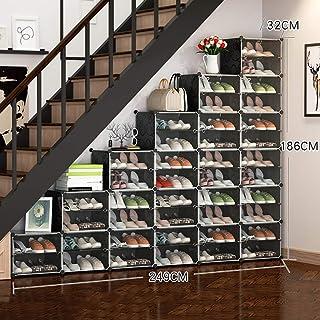 Organisateur De Rangement pour Meuble, Unités pour Chaussures Gain De Place, Range-Chaussures sous Les Escaliers, Idéal po...