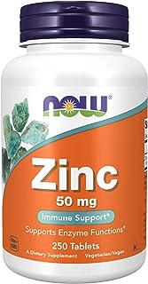 Lo zinco gluconato - 250 pillole - Now Foods, alimenti