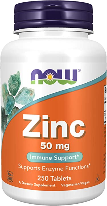 Zinco gluconato - 250 pillole - now foods 1522