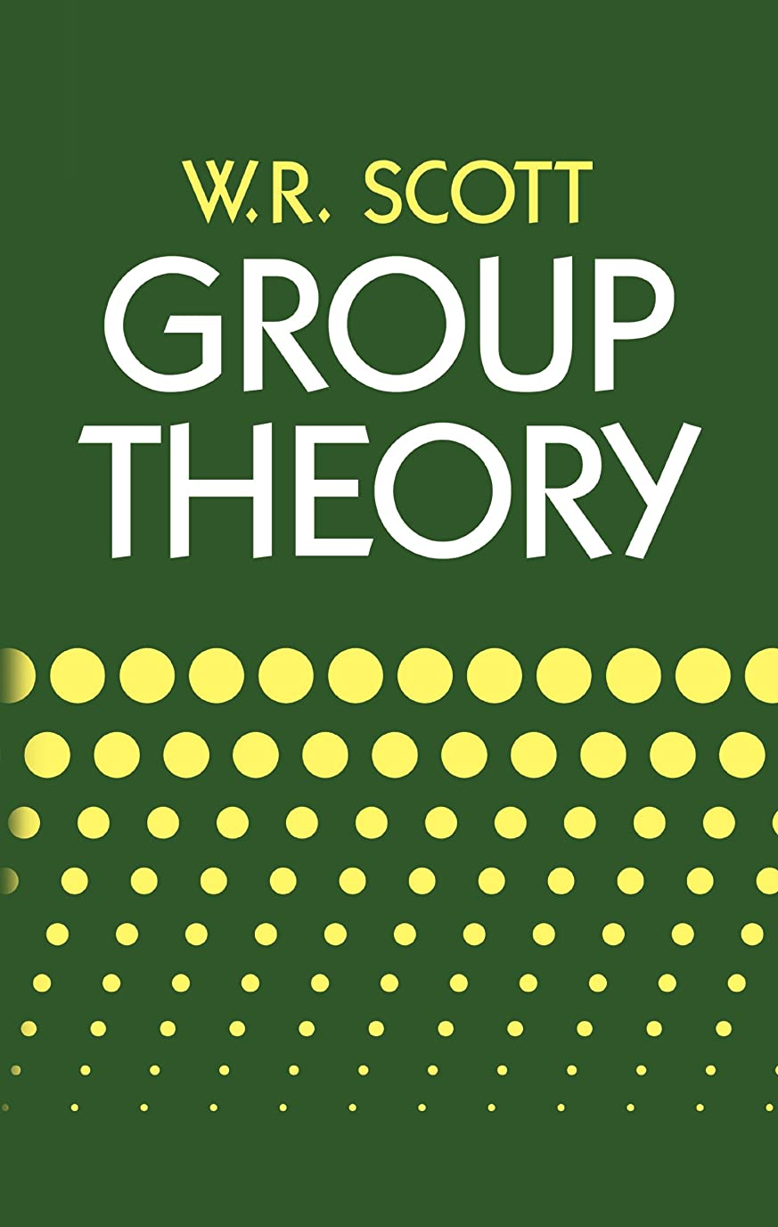 キャリアアルファベット順警察Group Theory (Dover Books on Mathematics) (English Edition)