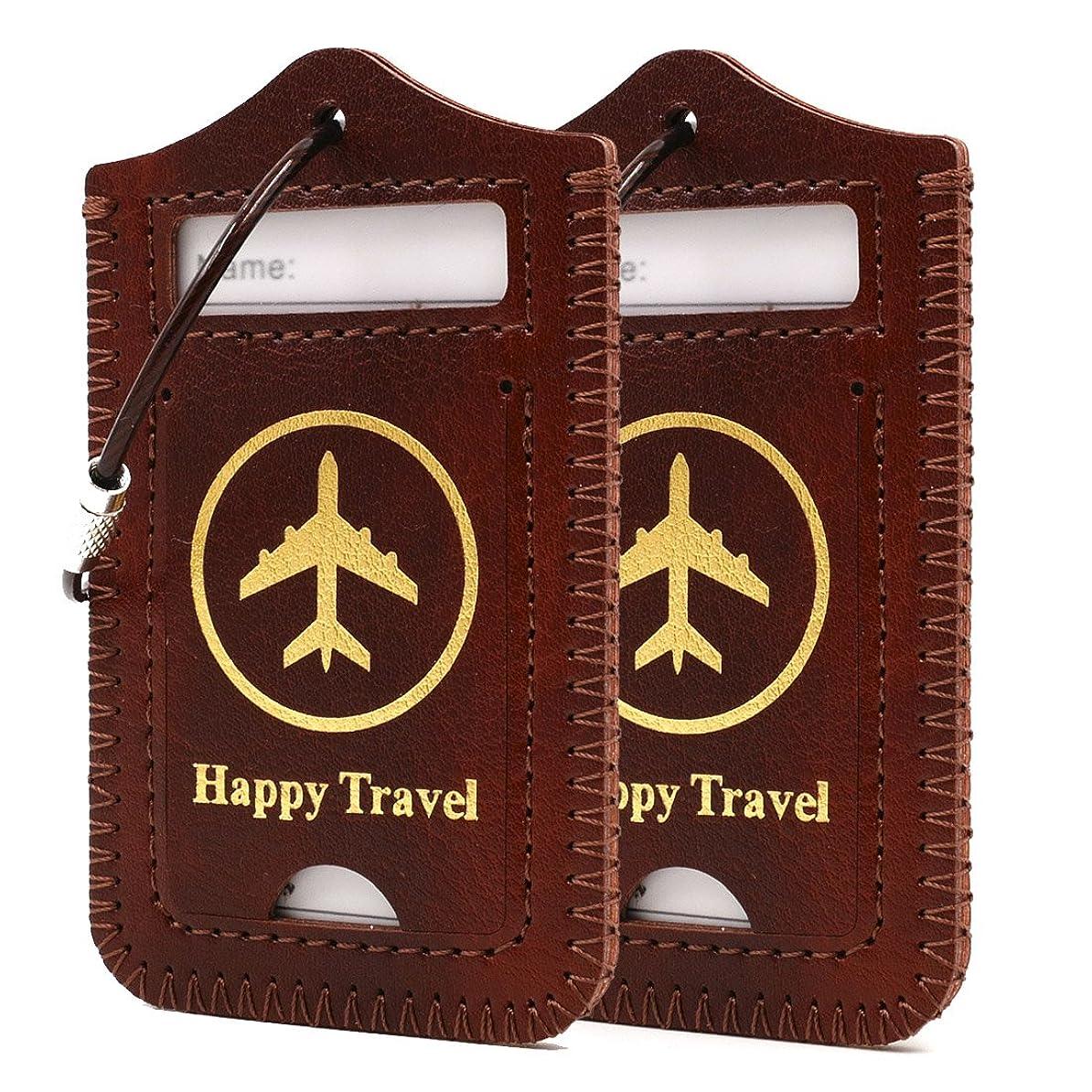 本当のことを言うと腐った百科事典ネームタグ スーツケース 旅行カバン ゴルフバッグ 用 レザー 製 旅行用品 2枚入り