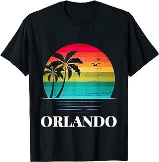 Orlando Florida Vacation Beach Island Family Group Gift T-Shirt