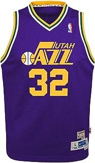 Outerstuff Karl Malone Utah Jazz NBA Youth Throwback Swingman Jersey