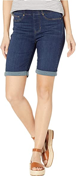 Chloe Pull-On Bermuda w/ Rolled Cuff