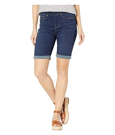 Liverpool Chloe Pull-On Bermuda w/ Rolled Cuff (Griffith Super Dark) Women
