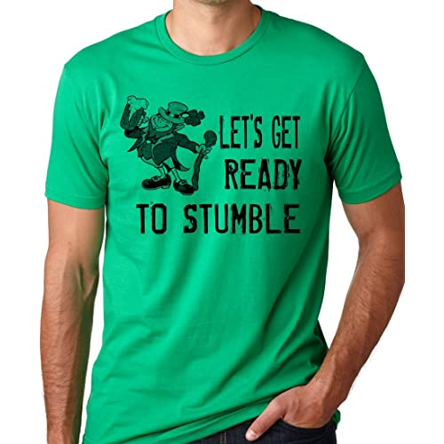 8361cb41 Think Out Loud Apparel Lets Get Ready to Stumble Funny St Patrick's Day T- Shirt