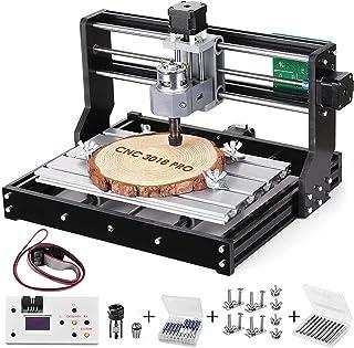 Sponsored Ad – Vogvigo Upgrade Version CNC 3018 Pro Wood Router Kit GRBL Control DIY Mini CNC Machine, 3 Axis Plastic Acry...