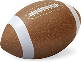 GoFloats Giant 3.5' Inflatable Football - Made from Premium Raft Grade Vinyl, Patch Kit Included