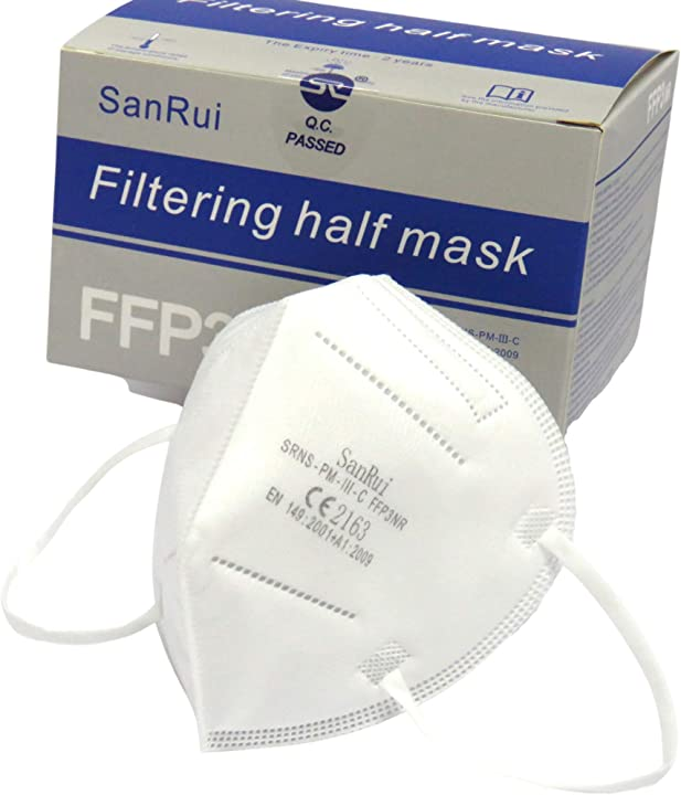 20 mascherine ffp3 certificate ce, 5 strati senza valvola italian shopping network isn alta efficienza bfe?98, B08SBL3PLN