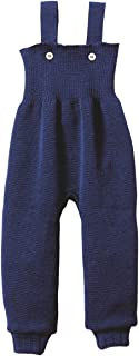 Disana 100% Organic Merino Wool Knitted Trausers/pants Made in Germany (3-6 Months, Navy)