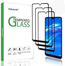 (3 Pack) Beukei for Huawei Y7 2019 / Y7 Pro 2019 / Huawei Y7 Prime (2019) Screen Protector Tempered Glass (6.26 inches), Glass with 9H Hardness, with Lifetime Replacement Warranty