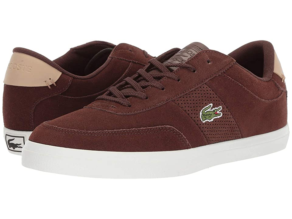 Lacoste Court-Master 418 1 (Brown/Natural) Men