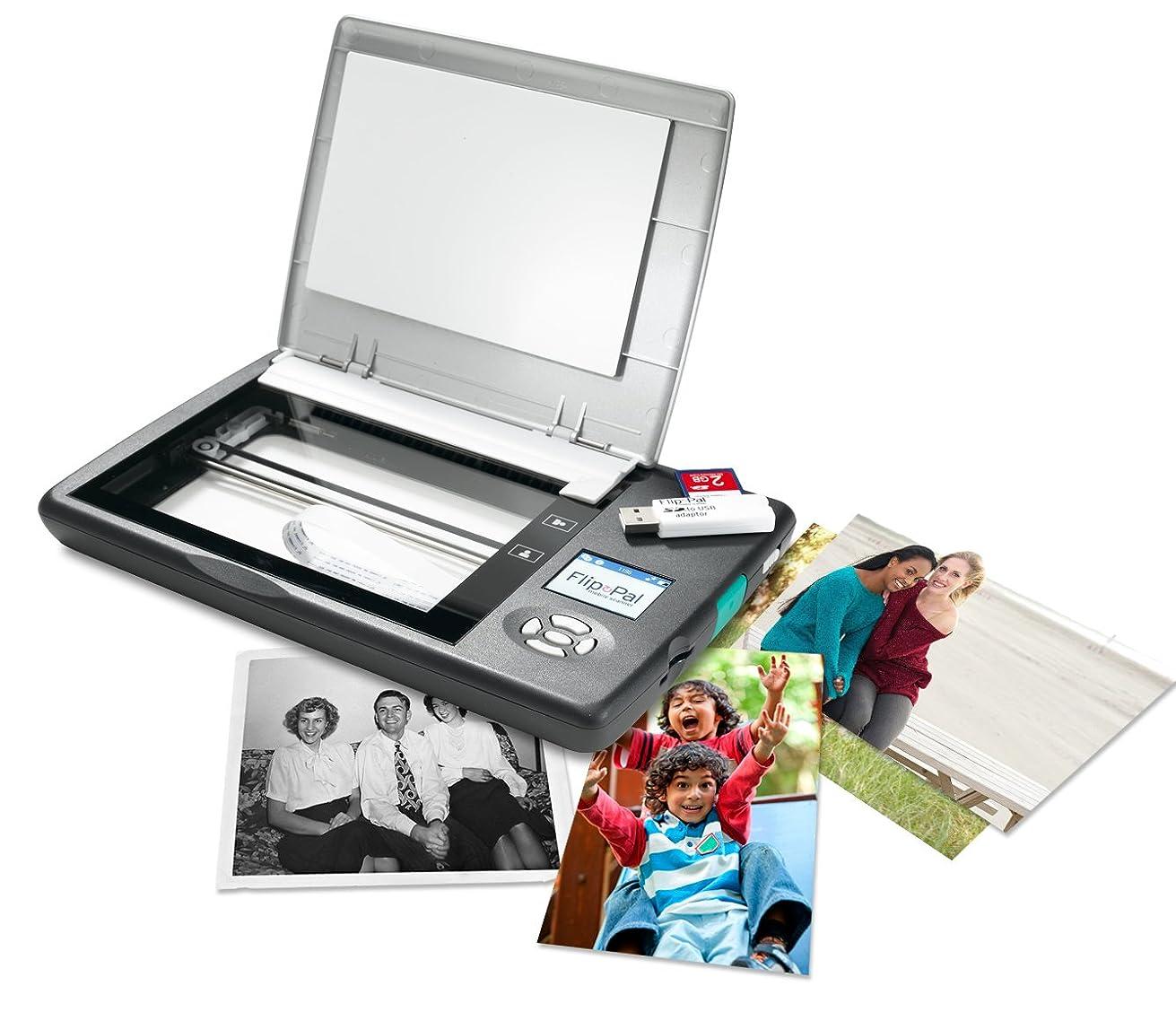 好きである模索性差別Flip-Pal Mobile Scanner with SD to USB adaptor, 4GB, and EasyStitch and StoryScans software