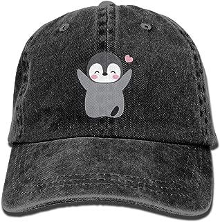 Funny Baby Penguin Premium Cowboy Baseball Caps Trucker Hats