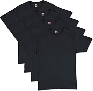 Hanes Men's ComfortSoft Short Sleeve T-Shirt (4 Pack)