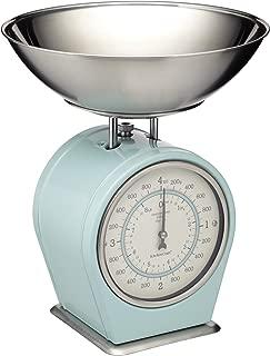 Kitchencraft Living Nostalgia Mechanical Kitchen Scales, 4kg (8 Lbs) - Vintage