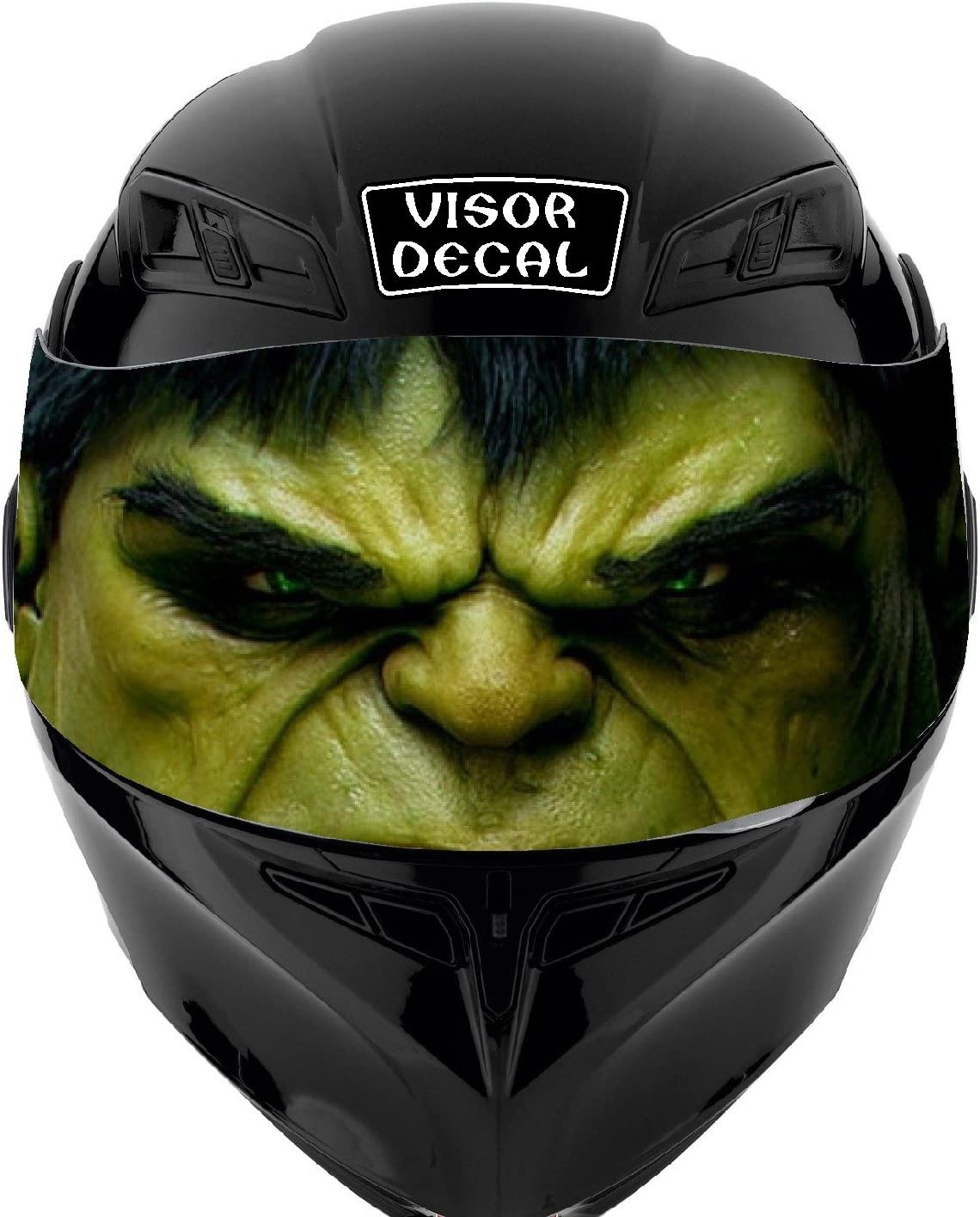 V10 Hulk VISOR TINT DECAL Graphic Don't miss the Genuine campaign Icon Helmet Sticker Shoe Fits: