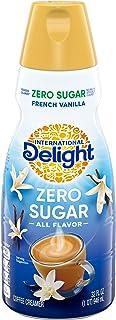 International Delight French Vanilla Coffee Creamer, Sugar Free, 32 oz