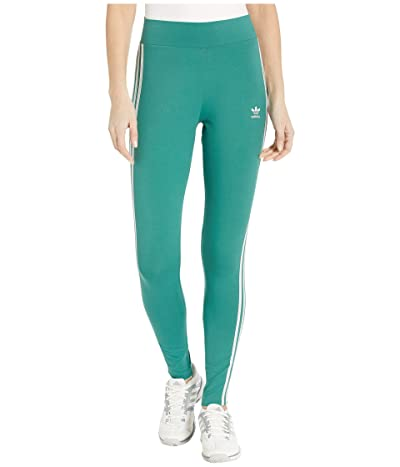 adidas Originals 3 Stripes Tights (Future Hydro/White) Women