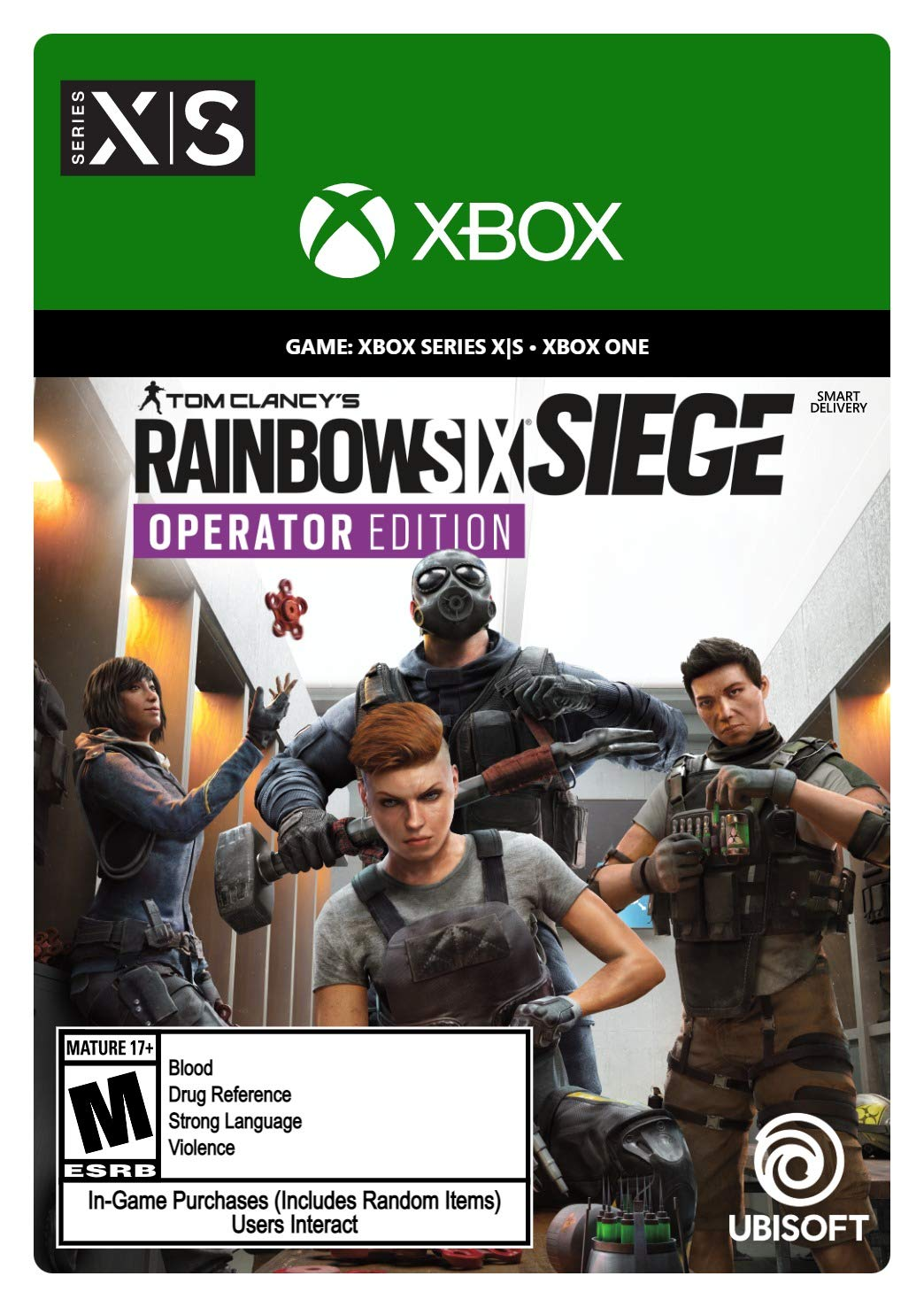 Tom Clancy's Cheap bargain Rainbow Six Siege Operator Xbox Soldering Series X Edition -