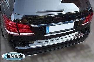 Recambo CT LKS 1480 LADEKANTENSCHUTZ Edelstahl für Mercedes E KLASSE S212 T Modell   mit ABKANTUNG, Large