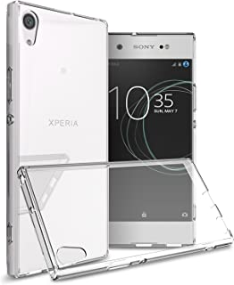 CoverON Hard Slim Fit ClearGuard Series for Sony Xperia XA1 Ultra Case, Clear