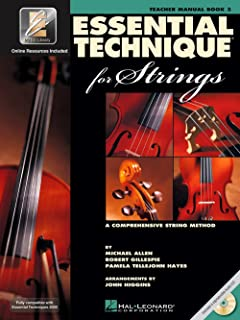 Hal Leonard Essential Technique for Strings - Teacher Manual (Book 3 with EEi and CD)