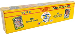 MLB 1990 Score Factory Set of 704 Cards