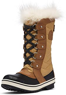 Youth Tofino II Winter Snow Boots with Faux Fur Cuff for Kids