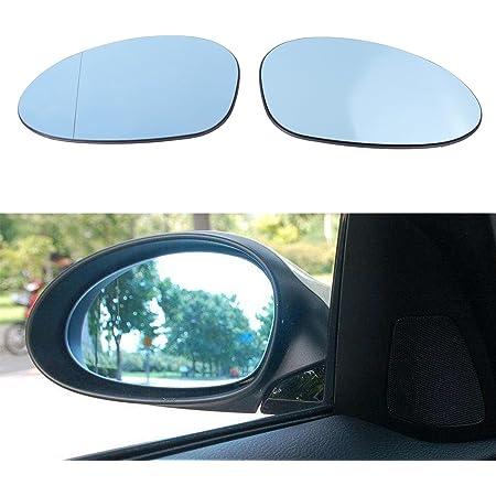 Color : Carbon fiber pattern Mirror Cover Car Rear-View Side Mirror Cover For BMW 1 3 Series E81 E82 E87 E88 E90 E91 E92 E93 Carbon Fiber Pattern Replacement Covers Wing Mirror