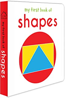 My First Book Of Shapes: First Board Book