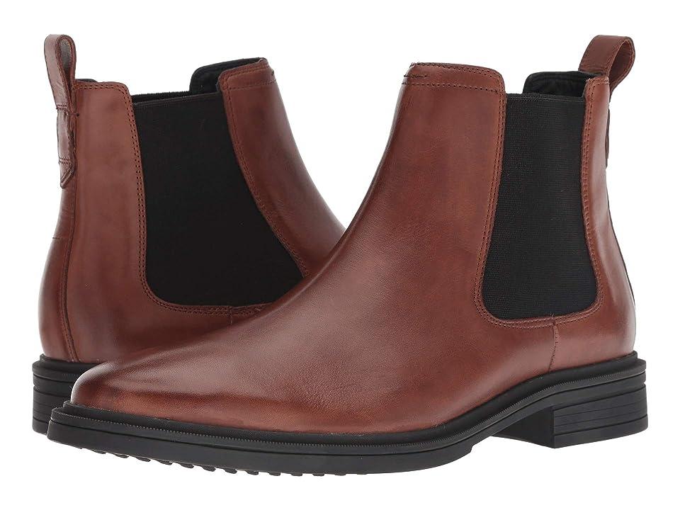 Cole Haan Bernard Chelsea Boot (Woodbury/Black) Men