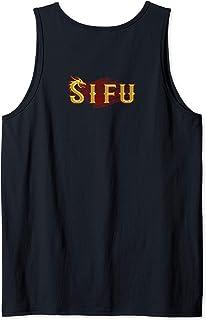 SI FU Chinese martial arts teacher, Sifu, Shifu Kung Fu Tank Top