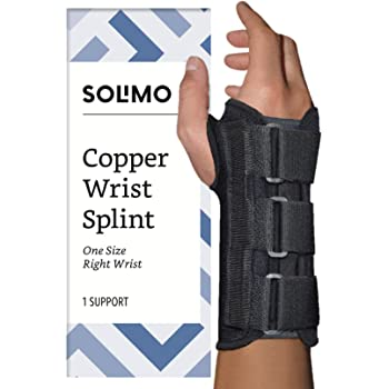 Right with Removable Metal Splint//Stays Medium Mars Wellness Premium Custom Wrist Brace Support