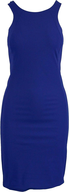 Patrizia Pepe Women's BA1431AZ26C745 bluee Polyamide Dress