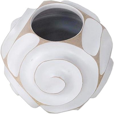 NOVICA 301711 Vases White