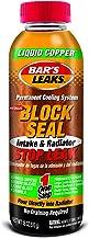 Bar's Leaks 1109 Block Seal Liquid Copper Intake and Radiator Stop Leak – 18 oz.