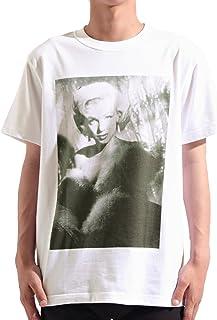 バレッタ マリリンモンロー フォトプリント クルーネック 半袖 Tシャツ メンズ