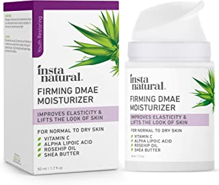 Collagen Firming Facial Cream - DMAE & Vitamin C Face & Neck Anti-Aging Moisturizer - Wrinkle Repair, Tightening, Hydratin...