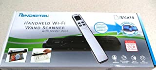 Pandigital Handheld Wi-Fi Wand Scanner with Feedback Dock