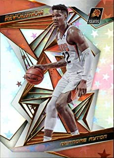 2019-20 Panini Revolution Astro Basketball #57 Deandre Ayton Phoenix Suns Official NBA Trading Card (Scan Streaks are NOT on the card)