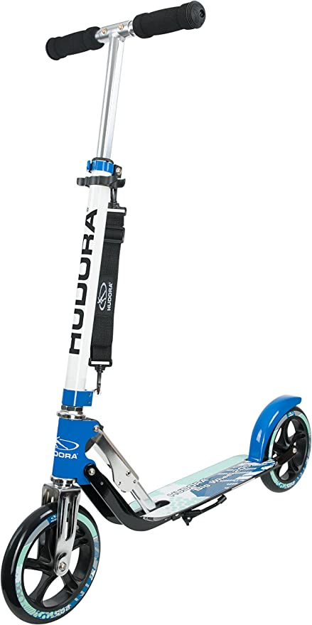 Hudora Scooter Big Wheel 205, Petrol - Patinete, Color Azul ...
